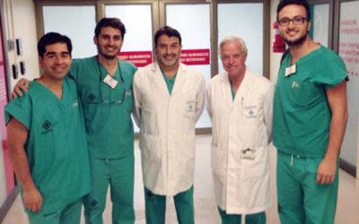 Cirujanos maxilofaciales españoles realizan estancias en la Clínica Alemana de Santiago de Chile