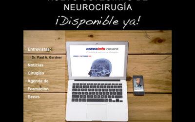 Presentamos nuestra nueva revista: el Osteoinfo de Neurocirugía