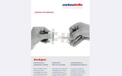 Ya está disponible el nuevo número de nuestra revista «Osteoinfo» N.º28 de Cirugía Oral y Maxilofacial