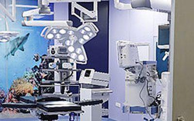 Inauguración del Hospital Velan en Trichy, India