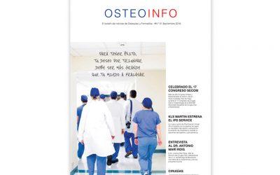 Ya está disponible el nuevo número del Osteoinfo de Cirugía Maxilofacial