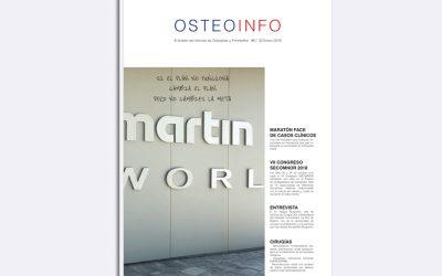 Ya está disponible un nuevo número de la Revista Osteoinfo de Cirugía Oral y Maxilofacial