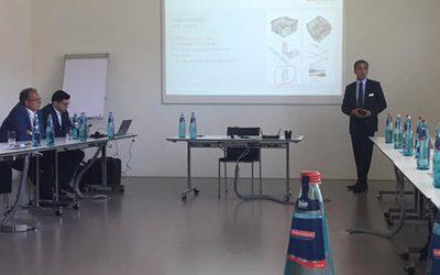Formación interna en las instalaciones de KLS Martin en Alemania