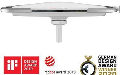 El marLED® X gana el tercer premio de diseño consecutivo