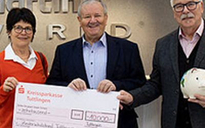 KLS Martin Group dona 10.000€ a la Asociación Alemana de Protección Infantil de Tuttlingen