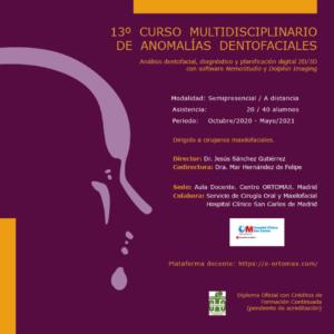 13º Curso Multidisciplinario de Anomalías Dentofaciales